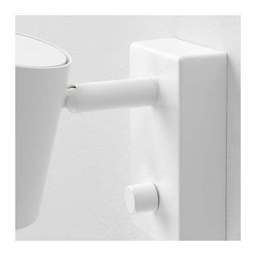 NYMÅNE - 入牆式壁燈/閱讀燈, 白色 | IKEA 香港及澳門 - PE660380_S4