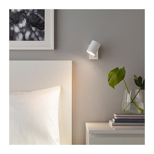 NYMÅNE - 入牆式壁燈/閱讀燈, 白色 | IKEA 香港及澳門 - PE660383_S4