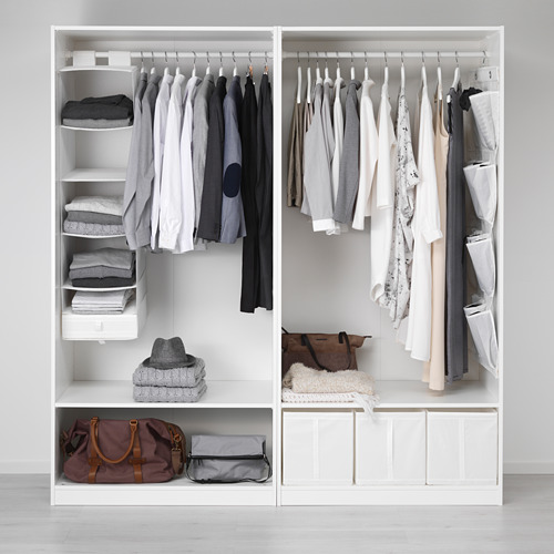PAX - 衣櫃, 白色/Hasvik 白色 | IKEA 香港及澳門 - PE554735_S4