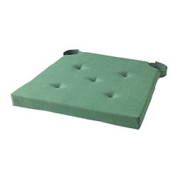 JUSTINA - chair pad, green | IKEA Hong Kong and Macau - PE549212_S3