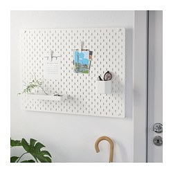 SKÅDIS - pegboard combination, white | IKEA Hong Kong and Macau - PE709251_S3