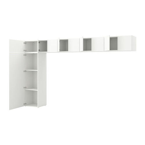 PLATSA - wardrobe w 10 doors, Fonnes white | IKEA Hong Kong and Macau - PE748865_S4