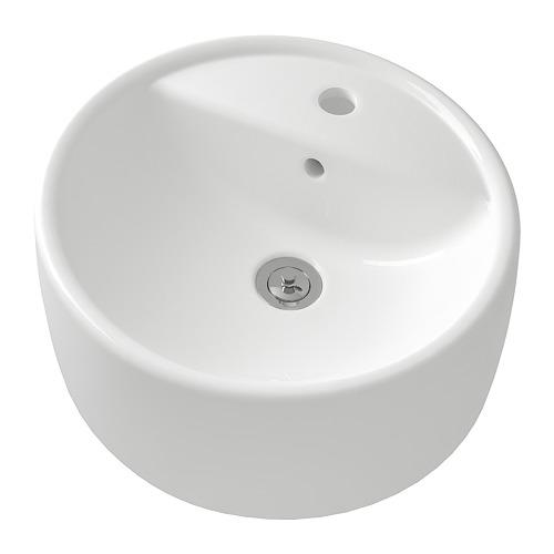TÖRNVIKEN - 櫃台板用洗手盆, 白色 | IKEA 香港及澳門 - PE748837_S4