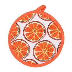 TORVFLY - pot holder, patterned/orange | IKEA Hong Kong and Macau - PE804614_S3