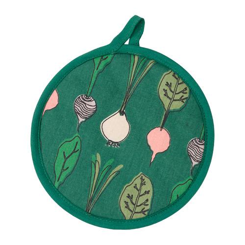TORVFLY - pot holder, patterned/green   IKEA Hong Kong and Macau - PE804617_S4