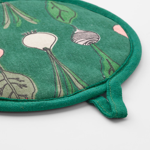 TORVFLY - pot holder, patterned/green   IKEA Hong Kong and Macau - PE804620_S4