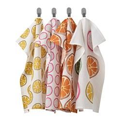 TORVFLY - 抹布, 圖案/橙色 | IKEA 香港及澳門 - PE804626_S3
