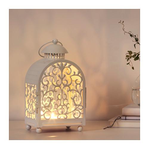 GOTTGÖRA - 金屬蠟燭燈座, 室內/戶外用 白色 | IKEA 香港及澳門 - PE604032_S4