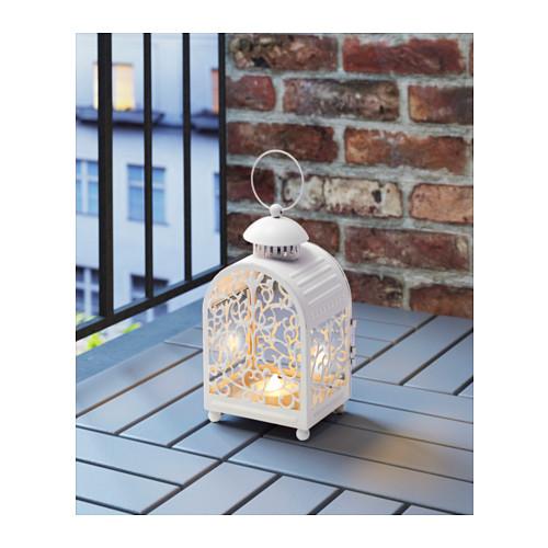 GOTTGÖRA - 金屬蠟燭燈座, 室內/戶外用 白色 | IKEA 香港及澳門 - PE604036_S4