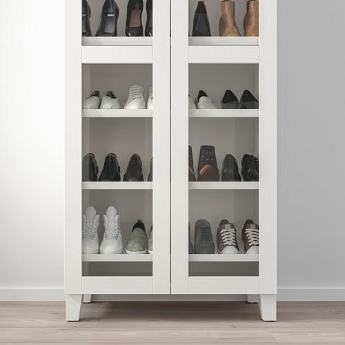 PLATSA - wardrobe with shoe shelf, white/Värd white | IKEA Hong Kong and Macau - PE748856_S4