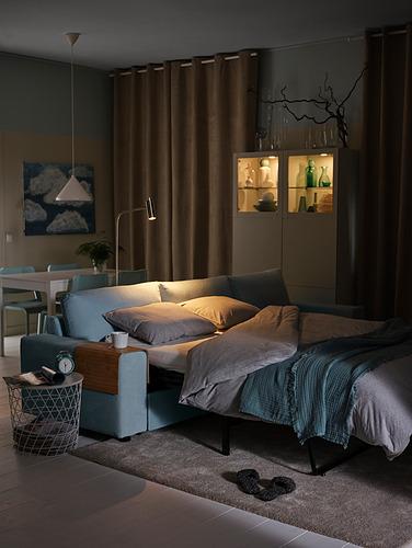 VIMLE - 三座位梳化連躺椅, with wide armrests/Saxemara light blue | IKEA 香港及澳門 - PH177961_S4