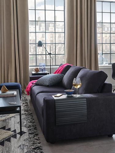 RÖDEBY - 扶手墊, 黑色 | IKEA 香港及澳門 - PH178074_S4