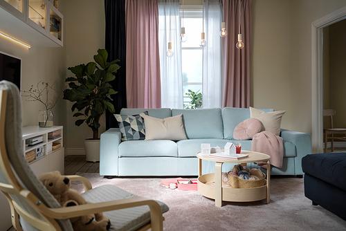VIMLE - 3-seat sofa, with wide armrests/Saxemara light blue   IKEA Hong Kong and Macau - PH178369_S4