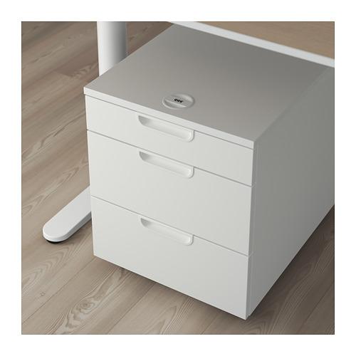 GALANT - 活動抽屜組合, 白色 | IKEA 香港及澳門 - PE709395_S4