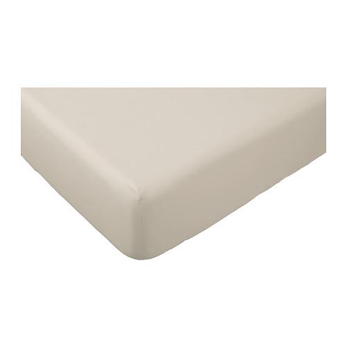DVALA - 標準雙人床笠, 米黃色 | IKEA 香港及澳門 - PE401147_S4