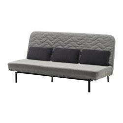 NYHAMN - 梳化床連咕, 附有獨立袋裝彈簧床褥/Knisa 灰色/米黃色 | IKEA 香港及澳門 - PE660538_S3
