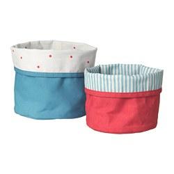 NÖJSAM - basket, set of 2, red/blue | IKEA Hong Kong and Macau - PE709422_S3