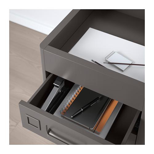 IDÅSEN - drawer unit on castors, dark grey | IKEA Hong Kong and Macau - PE709884_S4