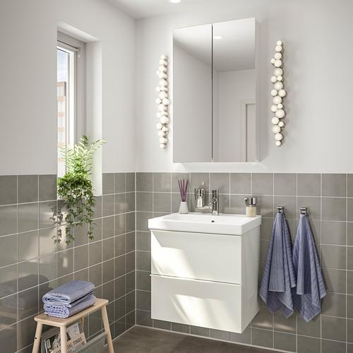 ODENSVIK/GODMORGON - 浴室貯物組合 4件裝, high-gloss white/Dalskär tap   IKEA 香港及澳門 - PE748981_S4