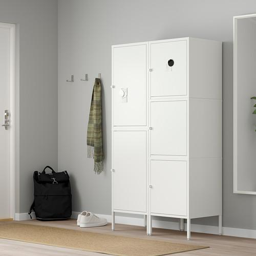 HÄLLAN - storage combination with doors, white | IKEA Hong Kong and Macau - PE664028_S4