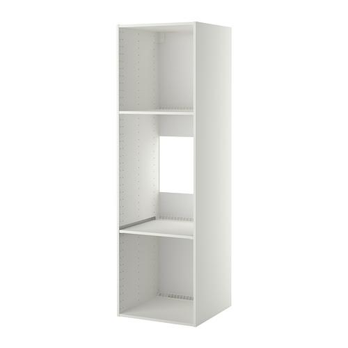 METOD - high cabinet frame for fridge/oven, white | IKEA Hong Kong and Macau - PE314908_S4