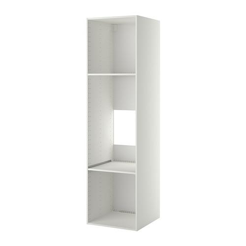 METOD - 雪櫃/焗爐用高櫃框, 白色 | IKEA 香港及澳門 - PE314910_S4