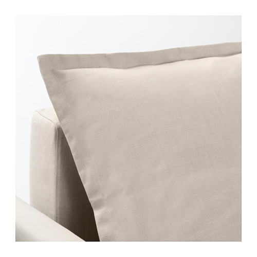 HOLMSUND - 角位梳化床(可貯物), nordvalla 米黃色 | IKEA 香港及澳門 - PE604339_S4