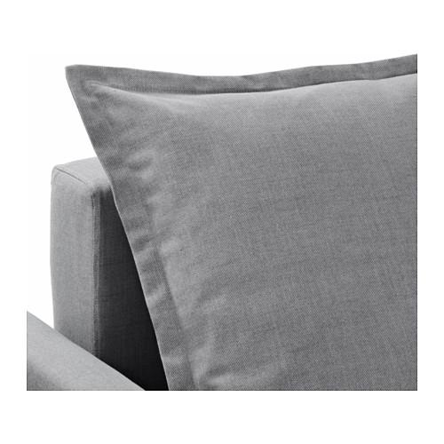 HOLMSUND - corner sofa-bed with storage, nordvalla medium grey   IKEA Hong Kong and Macau - PE604344_S4