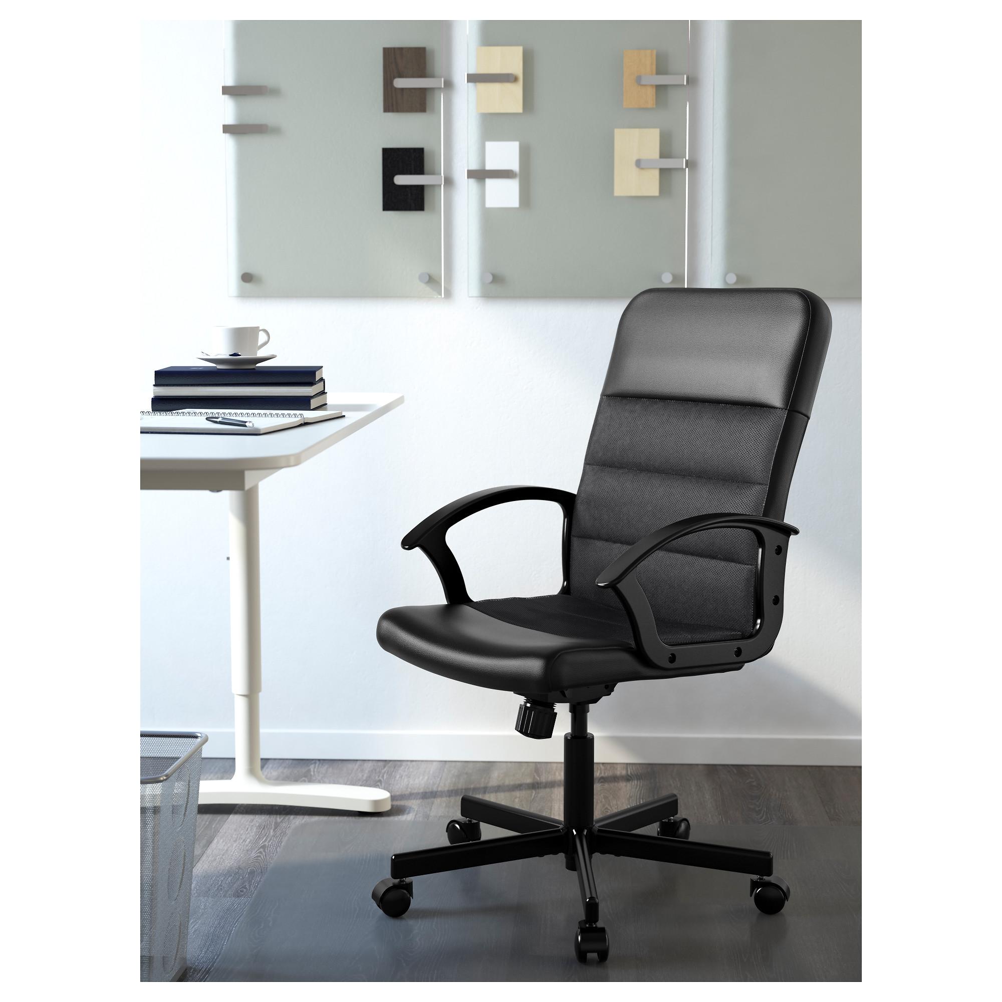 Renberget Swivel Chair Bomstad Black Ikea Hong Kong