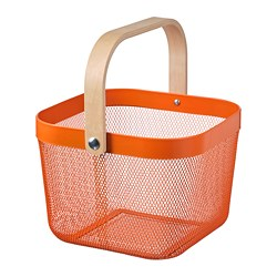 RISATORP - 貯物籃, 橙色 | IKEA 香港及澳門 - PE804885_S3
