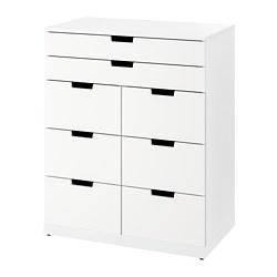 NORDLI - 八格抽屜櫃, 白色   IKEA 香港及澳門 - PE780873_S3