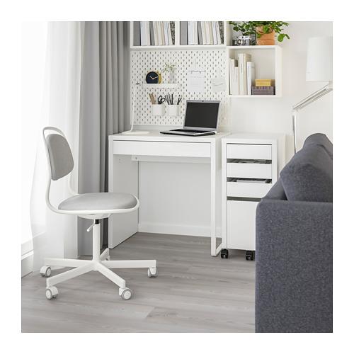 MICKE - desk, width 73 x depth 50cm, white   IKEA Hong Kong and Macau - PE709632_S4