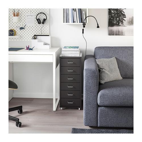 HELMER - 活動抽屜組合, 28x43x69cm, 黑色 | IKEA 香港及澳門 - PE709642_S4