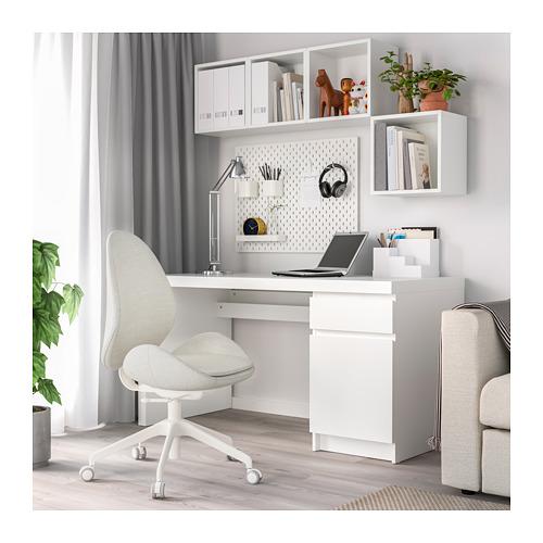 HATTEFJÄLL - office chair, Gunnared beige | IKEA Hong Kong and Macau - PE709660_S4