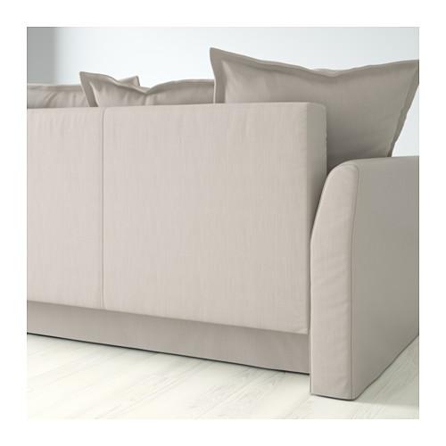 HOLMSUND - 角位梳化床(可貯物), nordvalla 米黃色 | IKEA 香港及澳門 - PE604689_S4