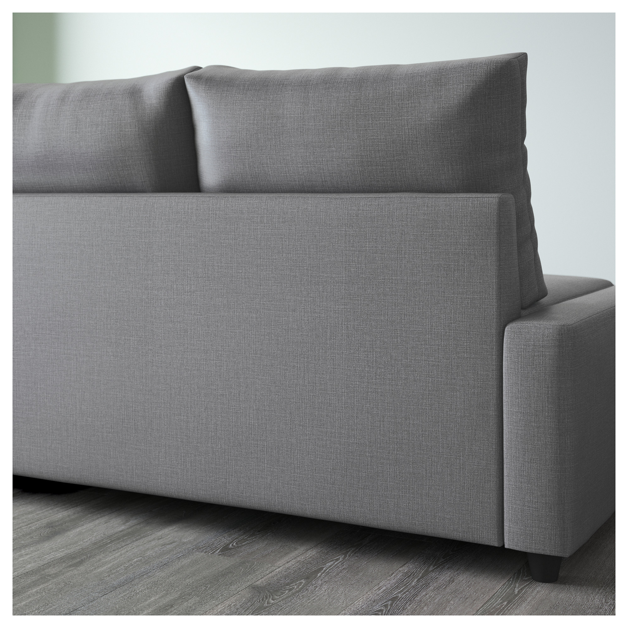 FRIHETEN - corner sofa-bed with storage, Skiftebo dark grey ...