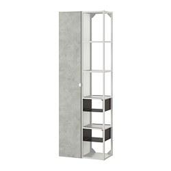 ENHET - 上牆式貯物架組合, white/concrete effect | IKEA 香港及澳門 - PE773656_S3