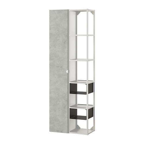ENHET - 上牆式貯物架組合, white/concrete effect | IKEA 香港及澳門 - PE773656_S4