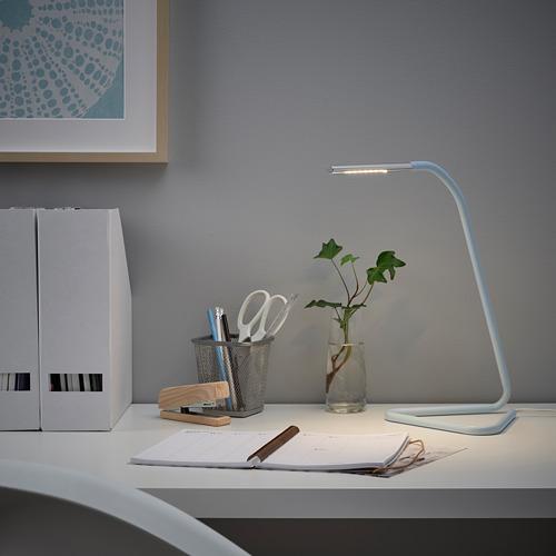 HÅRTE - LED工作燈, 淺藍色/銀色   IKEA 香港及澳門 - PE808313_S4