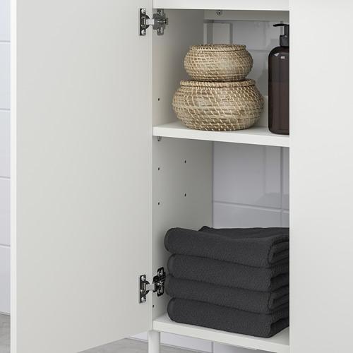 LILLÅNGEN/LILLÅNGEN - bathroom furniture, set of 5, white/Ensen tap | IKEA Hong Kong and Macau - PE749228_S4