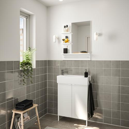 LILLÅNGEN/LILLÅNGEN - bathroom furniture, set of 5, white/Ensen tap | IKEA Hong Kong and Macau - PE749227_S4