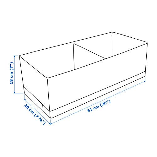 STUK 分格貯物箱, 闊20cm