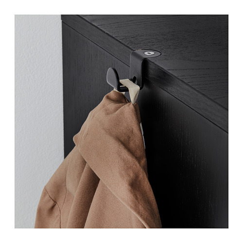 GALANT - 貯物組合連趟門, 染黑梣木飾面 | IKEA 香港及澳門 - PE709837_S4