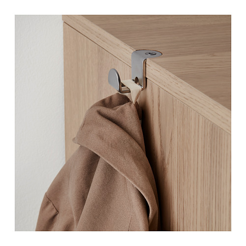 GALANT - 貯物組合連趟門, 染白橡木飾面 | IKEA 香港及澳門 - PE709825_S4