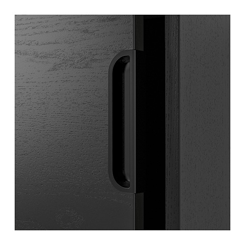 GALANT - 貯物組合連趟門, 染黑梣木飾面 | IKEA 香港及澳門 - PE709828_S4