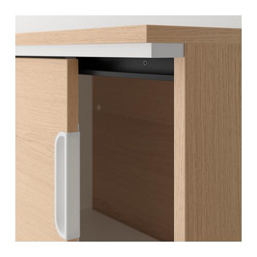 GALANT - 貯物組合連趟門, 染白橡木飾面 | IKEA 香港及澳門 - PE709835_S4