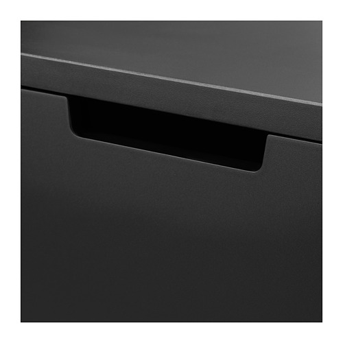 NORDLI chest of 2 drawers