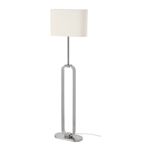 UPPVIND - floor lamp, nickel-plated/white   IKEA Hong Kong and Macau - PE805083_S4