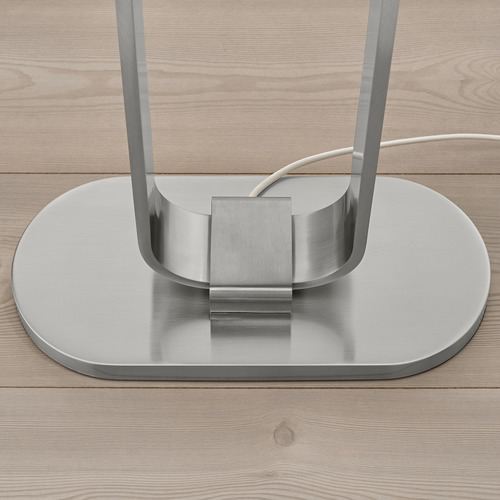UPPVIND - floor lamp, nickel-plated/white   IKEA Hong Kong and Macau - PE805084_S4