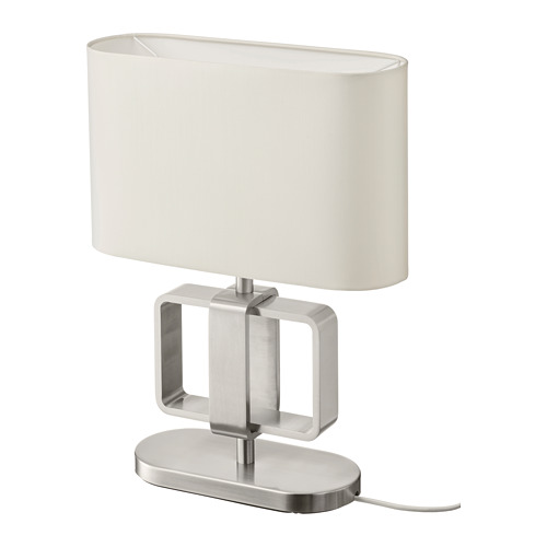 UPPVIND - table lamp, nickel-plated/white | IKEA Hong Kong and Macau - PE805079_S4